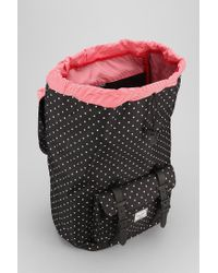 Urban Outfitters - Black Herschel Supply Co Polka Dot Little America Backpack for Men - Lyst