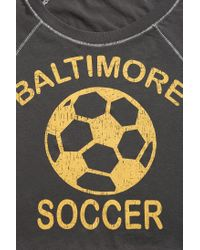 Project Social T - Gray Baltimore Soccer Tee - Lyst