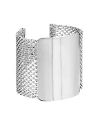ASOS | Metallic Mesh Bar Bracelet | Lyst