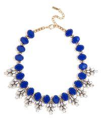 BaubleBar - Blue Crystal Conifer Collar - Lyst