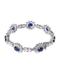 Carat*   Blue Floral Sapphire Bracelet   Lyst