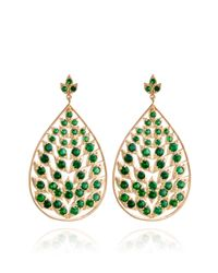 Jamie Wolf | Green Leaf Earring with Tsavorite | Lyst