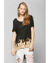 Urban Outfitters | Black Ecote Prince High Low Tee | Lyst