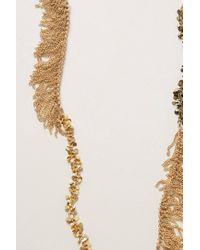 Anthropologie - Metallic Saudades Fringe Necklace - Lyst