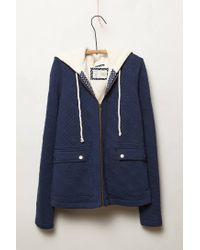 Anthropologie | Blue Quilted Cross Country Jacket | Lyst