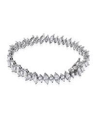 Carat* - Metallic Long Marquise Bracelet - Lyst