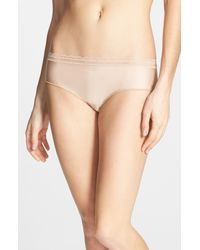 Chantelle | Natural Soft Lace Trim Hipster Briefs | Lyst
