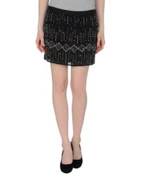 Gryphon - Black Mini Skirt - Lyst