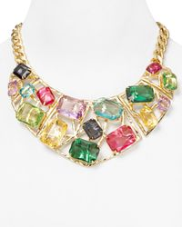 R.j. Graziano - Multicolor Color Luxe Geometric Statement Necklace 18 - Lyst