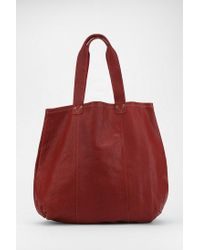 749e364f60 Lyst - Urban Outfitters Alternative Leather Bodega Tote Bag in Red