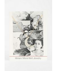 Urban Outfitters - Metallic Miriam Merenfeld Moon Necklace - Lyst