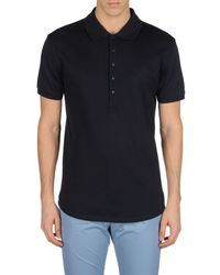 Adidas SLVR - Blue Polo Shirt for Men - Lyst