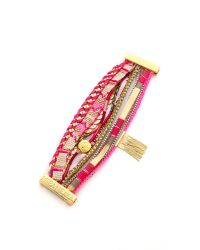 Hipanema | Pink Hippie Bracelet | Lyst
