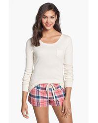Jane & Bleecker New York | Pink Short Pajamas | Lyst
