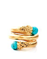 Paula Mendoza | Blue Chloe Turquoise Ring | Lyst