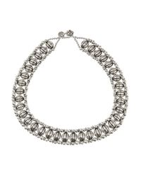 Philippe Audibert - Metallic Suzan Silverplated Necklace - Lyst