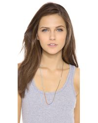 Shashi | Blue Sam Necklace | Lyst
