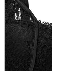 Stella McCartney | Black Elodie Hopping Lace Contour Bra | Lyst