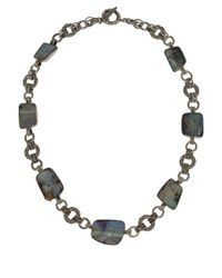 Stephen Dweck | Metallic Silver Boulder Opal Necklace | Lyst