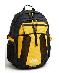 The North Face   Yellow Recon Backpack for Men   Lyst