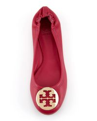 Tory Burch | Black Kendrick Suede Driver | Lyst