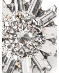 DANNIJO | Metallic Charlotte Earrings | Lyst