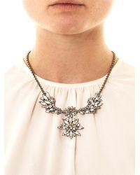 DANNIJO - Metallic Cynthia Necklace - Lyst