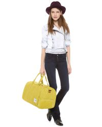 Herschel Supply Co. - Yellow Novel Weekender Duffel Bag - Lyst