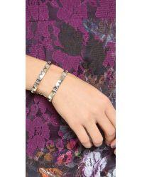 House of Harlow 1960 - Metallic Cusco Crescent Cuff Bracelet - Lyst