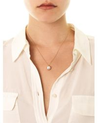 Melanie Georgacopoulos | White Pearl Yellow Gold Tasaki Necklace | Lyst