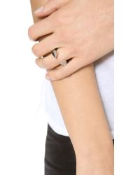 Vita Fede - Metallic Titan Two Tone Ring - Lyst