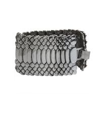 AllSaints - Metallic Amniote Bracelet - Lyst