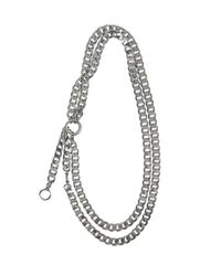 AllSaints - Metallic Cargo Necklace - Lyst