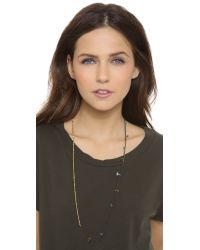 Shashi - Black Chelsea Lilu Necklace - Lyst