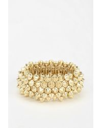 Urban Outfitters - Metallic Exene Stud Stretch Bracelet - Lyst