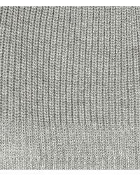 AllSaints - Gray Makkon Beanie for Men - Lyst
