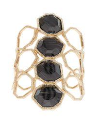 Isharya - Metallic Goddess Honeycomb Cuff - Lyst
