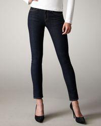 Rag & Bone | Black The High-Rise Skinny Heritage Jeans | Lyst