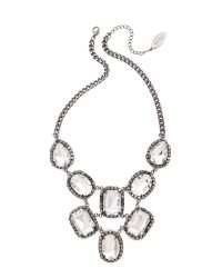 Adia Kibur | Metallic Crystal Statement Necklace | Lyst