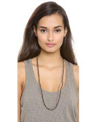 Shashi - Orange Maya Seed Bead Necklace - Lyst