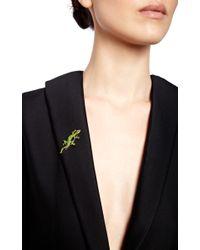 Simon Teakle - Green Antique Demantoid Garnet Lizard Brooch - Lyst
