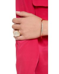 Alexis Bittar - Pink Thin Bangle Bracelet - Lyst