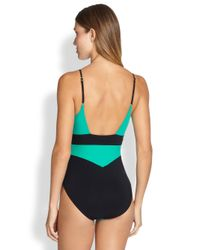 Gottex | One-Piece Kira Surplice Swimsuit | Lyst