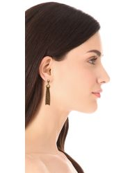 Marc By Marc Jacobs | Metallic Big Tassel Drop Earrings | Lyst