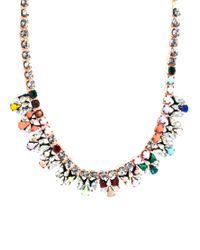 Shourouk - Multicolor Pamela Jumble Necklace - Lyst
