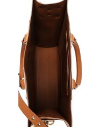 Sophie Hulme - Brown Mini Tote Bag - Lyst