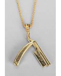 Urban Outfitters - Metallic Han Cholo Razor Necklace - Lyst