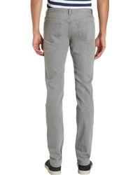 A.P.C. - Five Pocket Jeans Gray for Men - Lyst