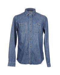 Denim & Supply Ralph Lauren - Blue Denim Shirt for Men - Lyst