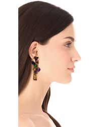 Erickson Beamon - Multicolor Electric Avenue Earrings - Lyst